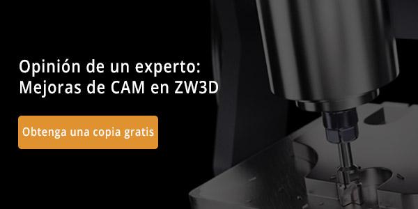 Opinión de un experto: Mejoras de CAM en ZW3D