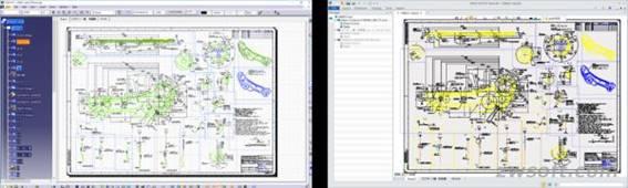 Importar dibujos 2D de CATIA®2D a ZW3D